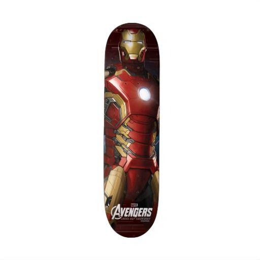 Iron Man Character Art Skateboard Man Character Character Art Cool Skateboards