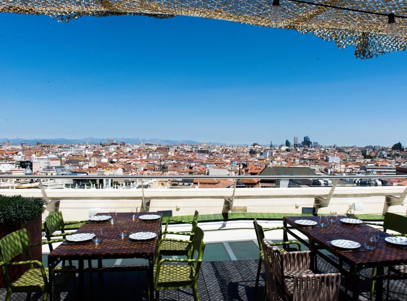 El Restaurante Tartan Roof En La Azotea Del Círculo De