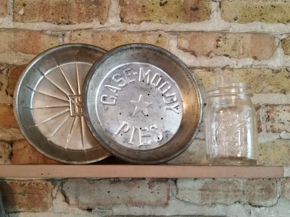 Case Moody Pies - Vintage Advertising Pie Plate | Antique