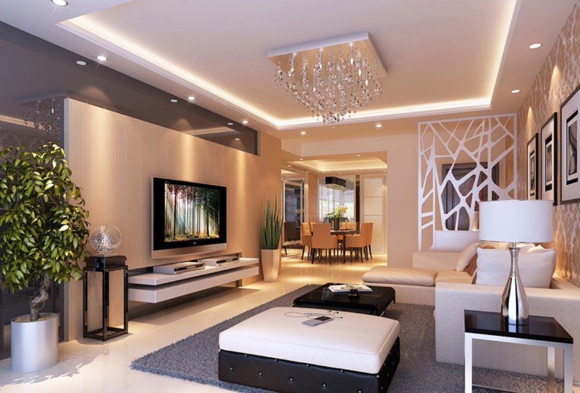 Living room tv modern ceiling design also ideas for and baby knitting rh pinterest