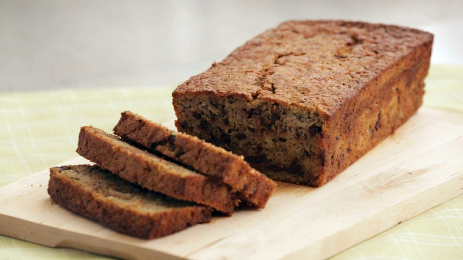 Spelt flour, zucchini, applesauce, and the addition of some chocolate chips for good measure might seem like an unlikely combination, but I guarantee you're going to love the results once you've tasted this unbelievably moist and delicious update on ordinary zucchini bread.