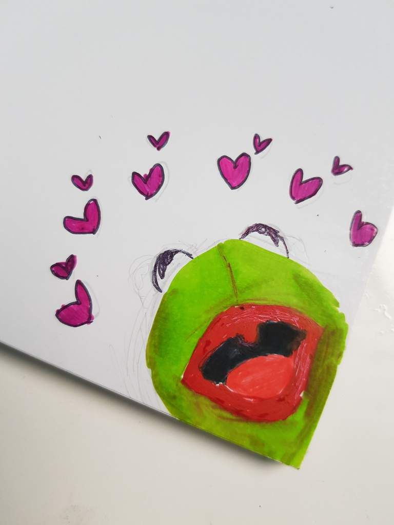 Kermit With Hearts Painting : kermit, hearts, painting, Hình, ảnh
