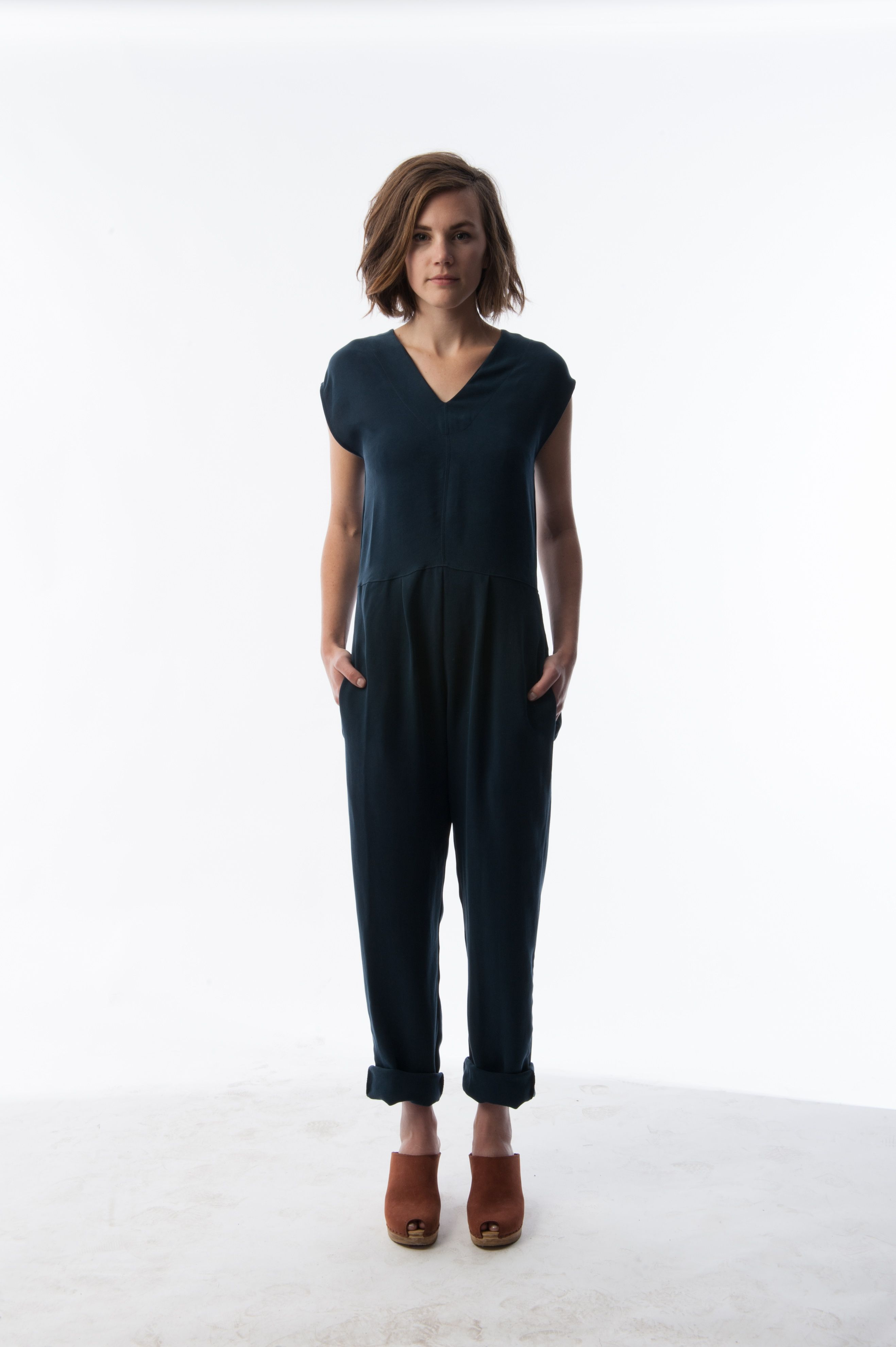 4a88b873ad1a HACKWITH HAPPENINGS    Sapphire Blue jumper Navy Jumpsuit