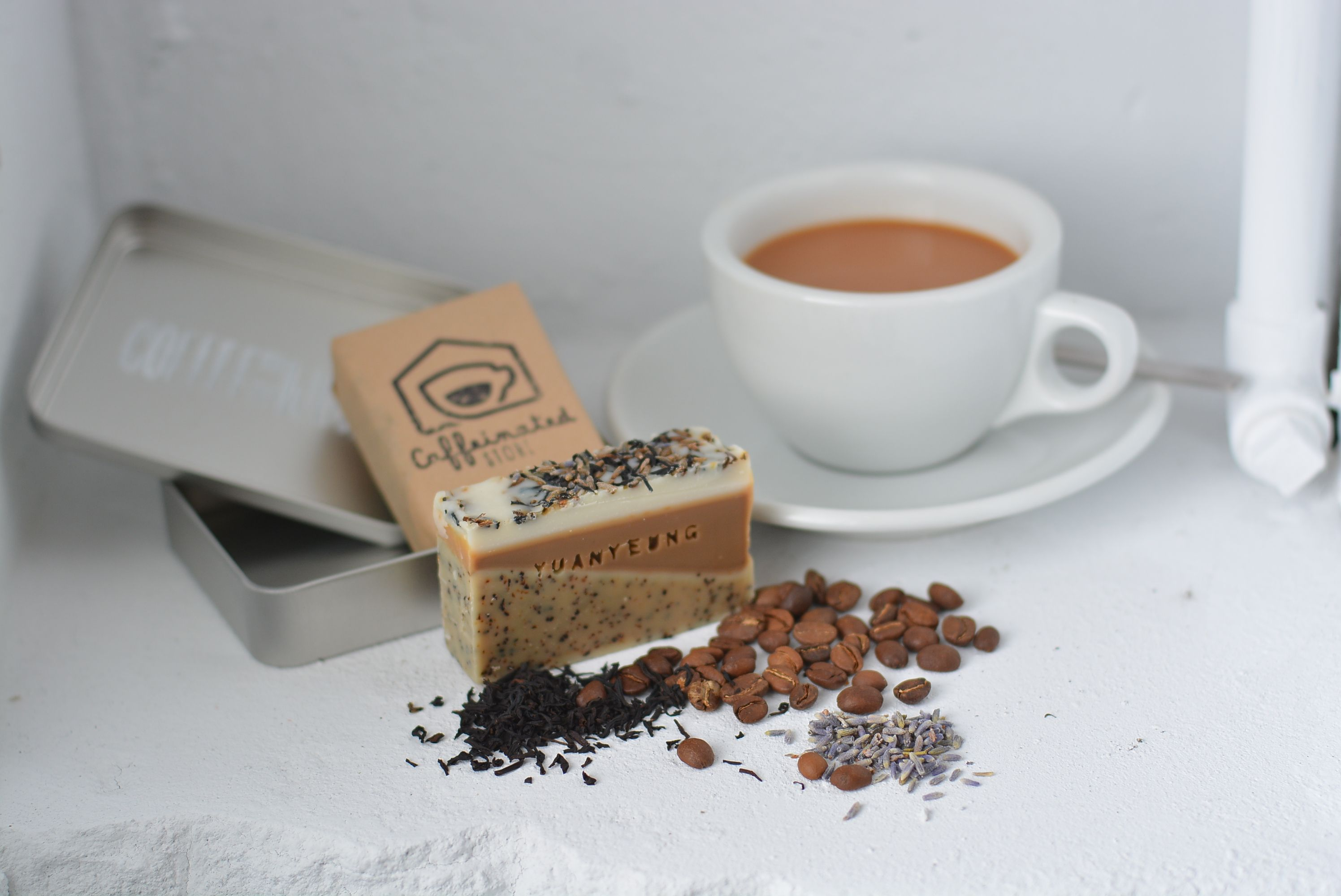 Handcrafted SoapCOFFEE OF THE WORLD 01 Chocolate