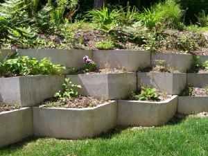 Hold A Hill Blocks 12 X 36 10 Each Garden Structures Outdoor Gardens Garden