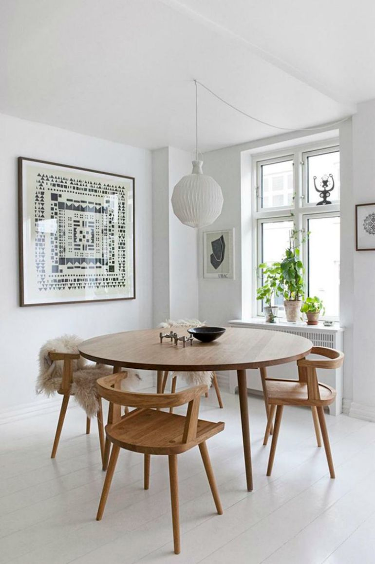8 Wooden Dining Room Tables For A Rustic Yet Chic Décor | woonkamer ...