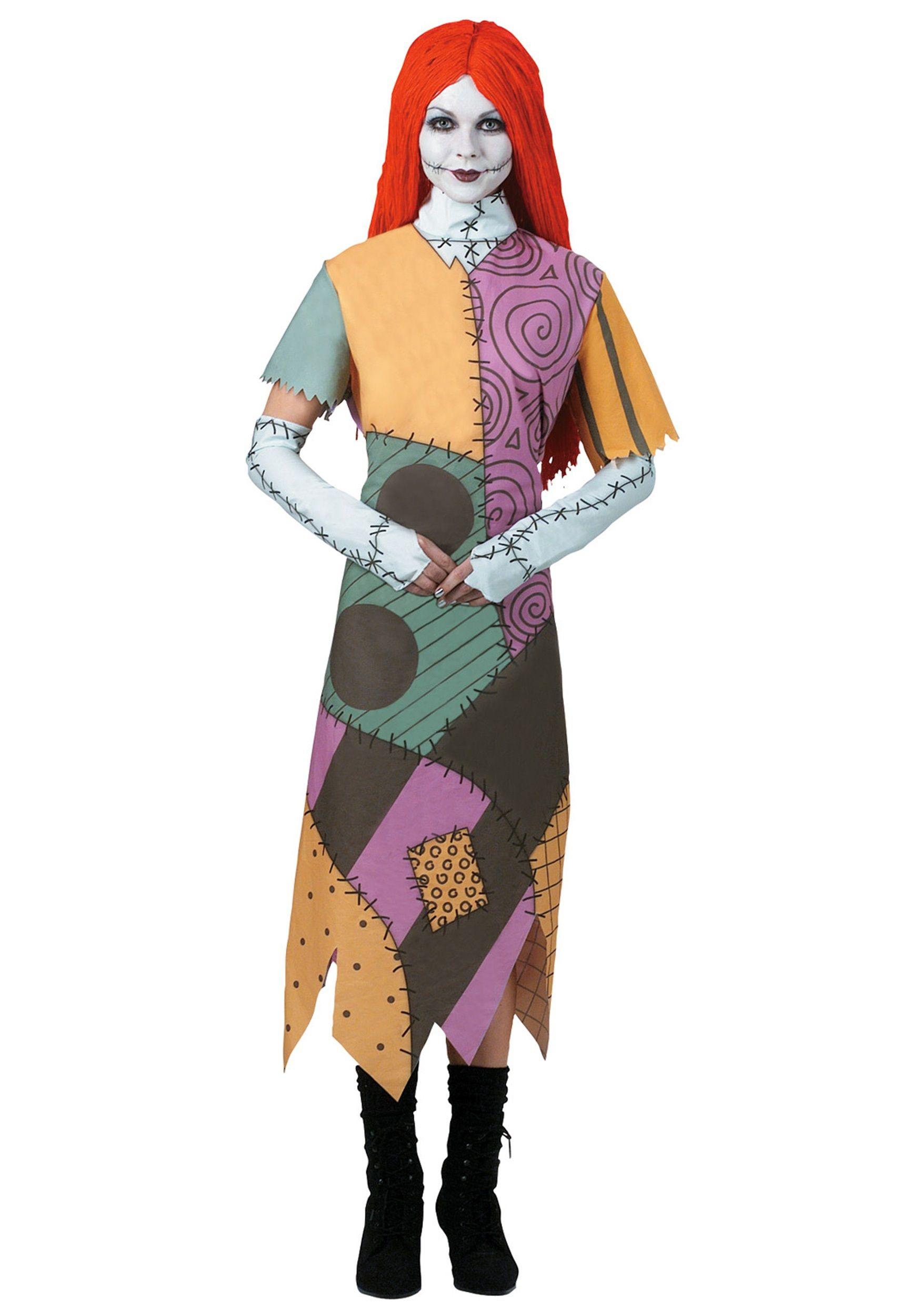 halloween fun adult sally costume - Fun Teenage Halloween Costumes