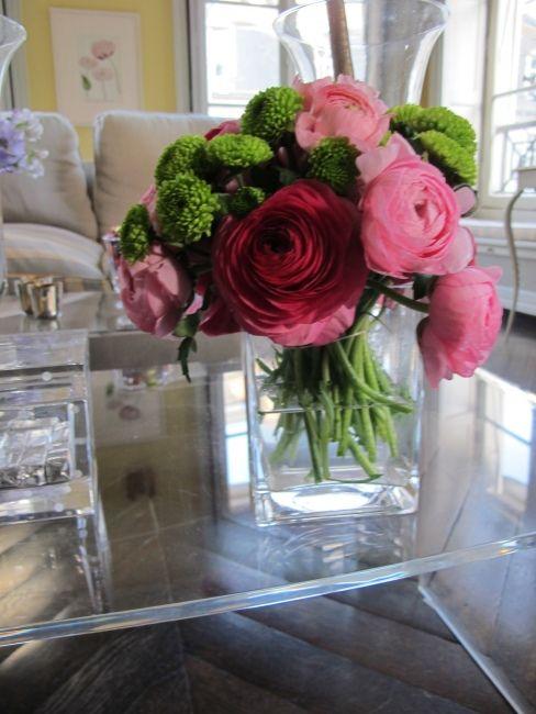 Flower arrangement from the weekend