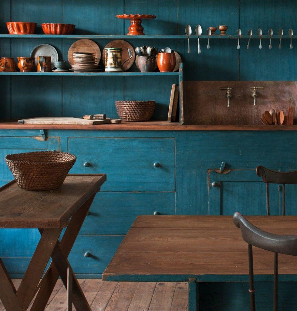 blue2 Hoffman Woodward | ~Blue Matters~ | Pinterest | Kitchen ...