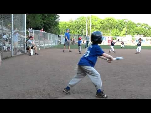 6 Year Old Makes Unassisted Triple Play Play Baseball 6 Year Old Kids Playing