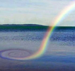 The Nicest Pictures: Spiral rainbow
