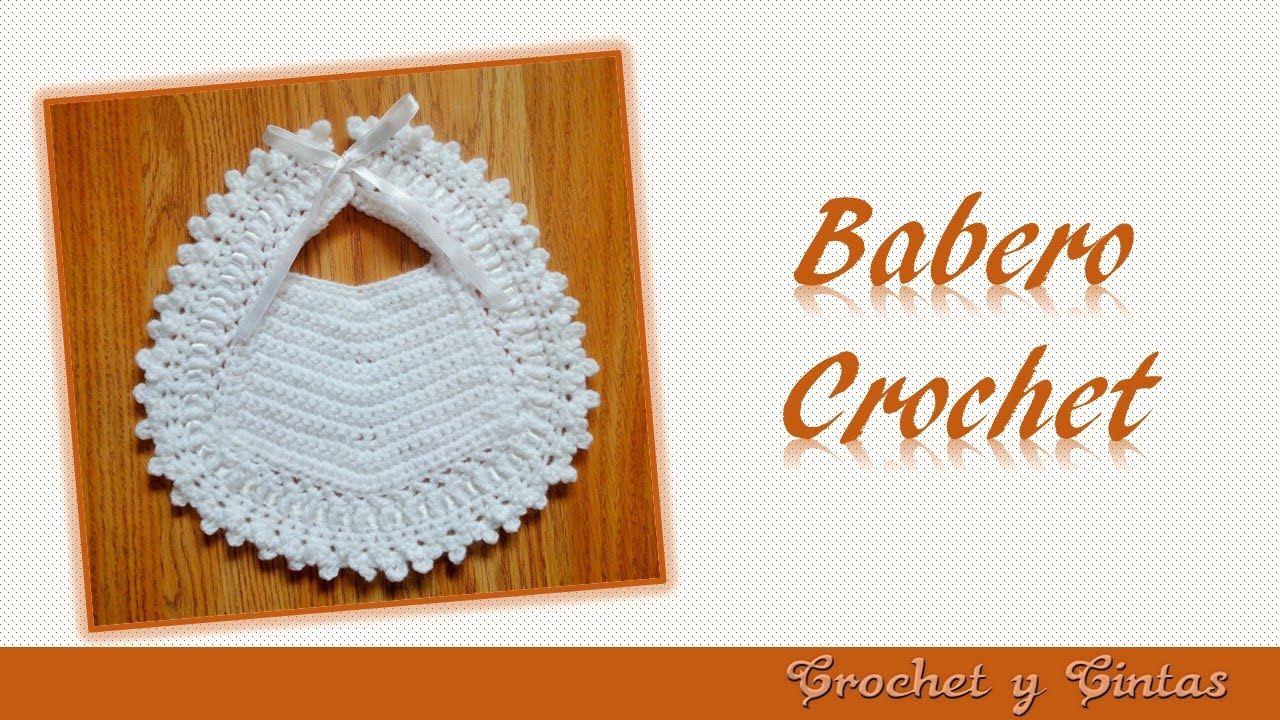 Babero para bebés tejido a crochet – Babero para ocasiones ...