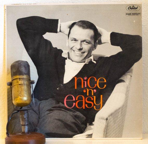 Frank Sinatra Vinyl Record Album 1960s Music Vocalist Swing Easy