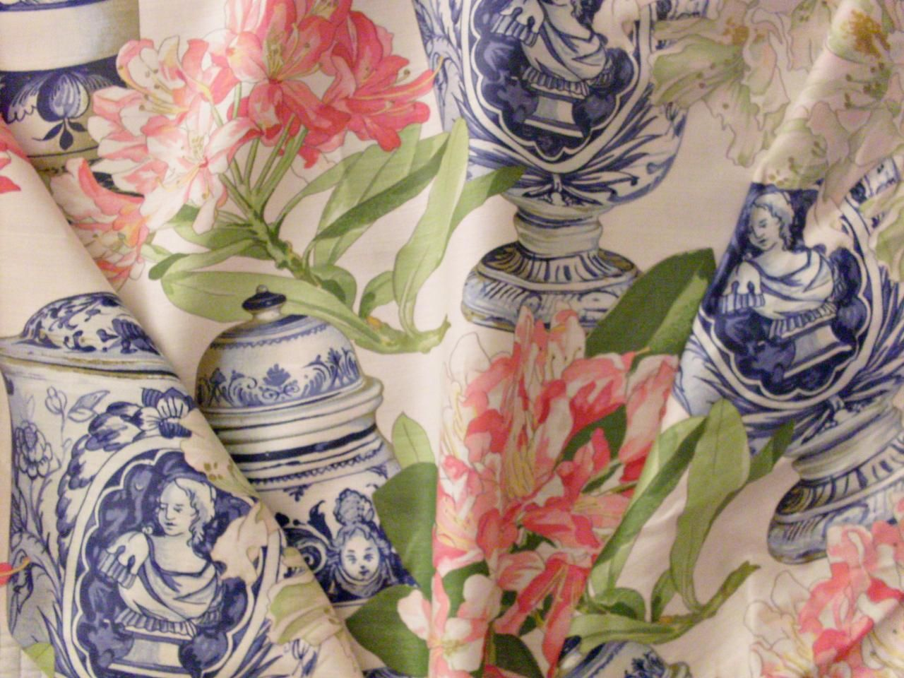 chintz fabric manuel canovas fabric as referenced in calgary interior design blog - Textile Design Blogs