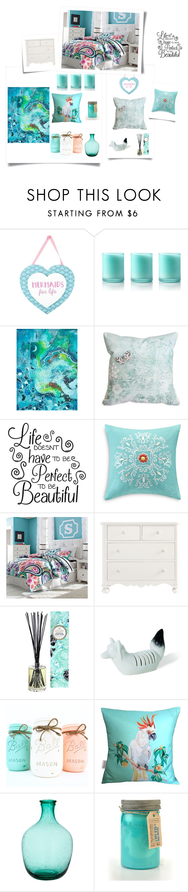 """Pet1"" by p-calkova on Polyvore featuring interior, interiors, interior design, home, home decor, interior decorating, Bliss, NOVICA, Echo and PBteen"
