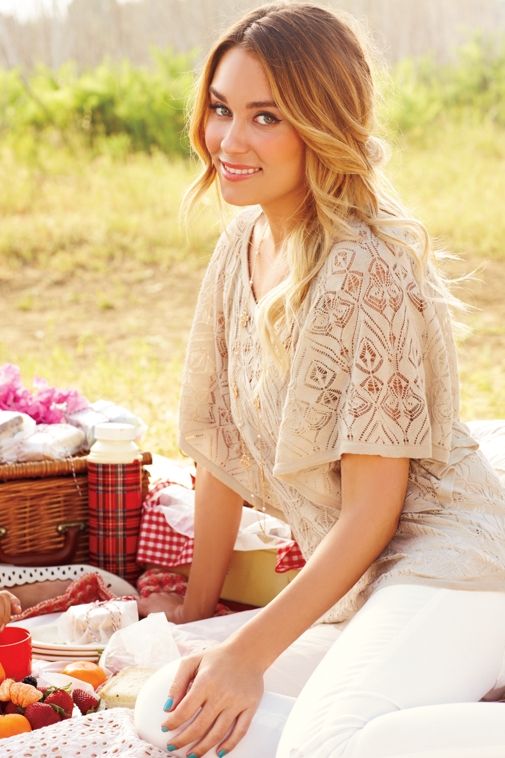 Nothing says summer romance like a flowy top and tousled