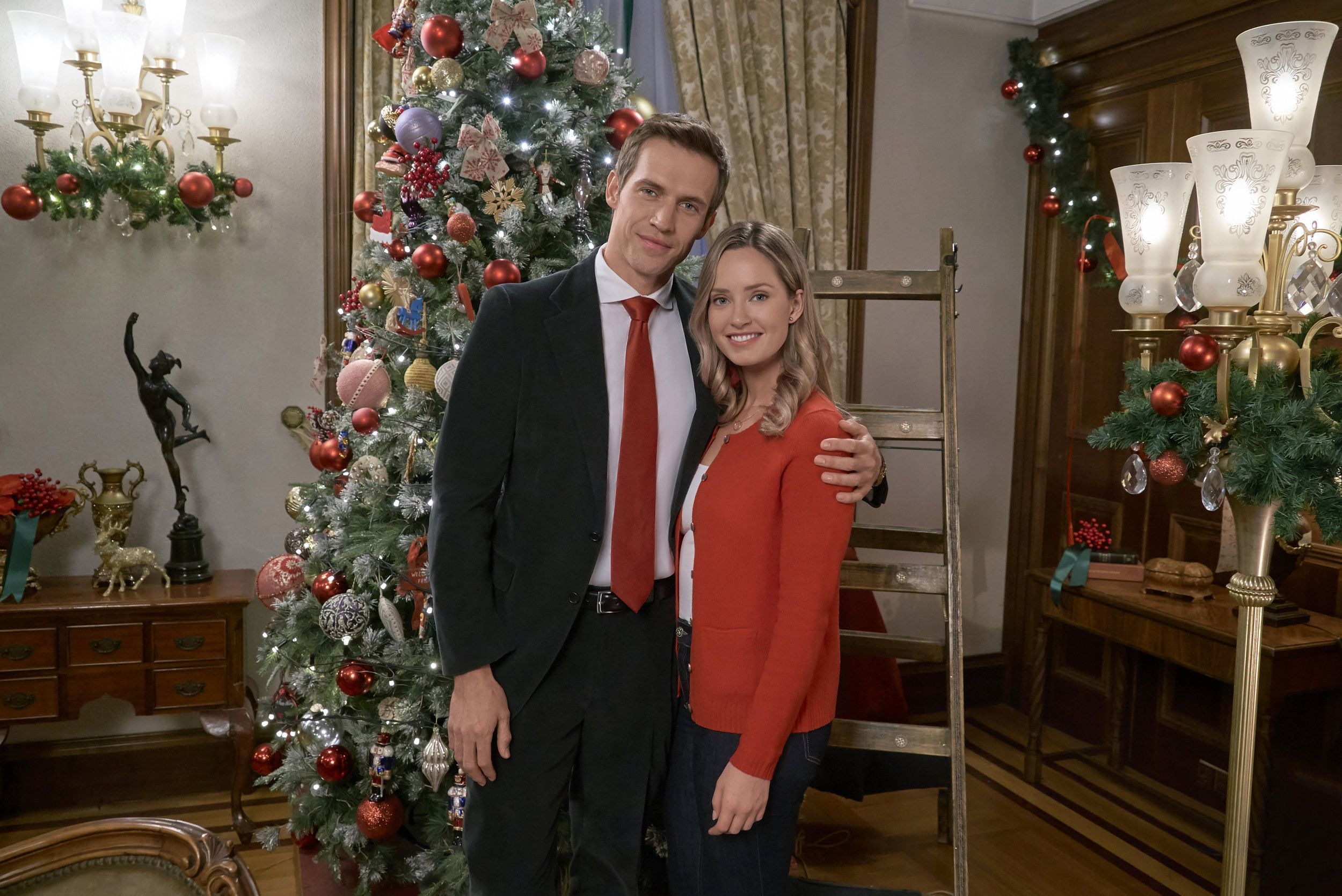"""Check out the photo gallery from the Hallmark Channel Original Movie """"Christmas at the Palace ..."""