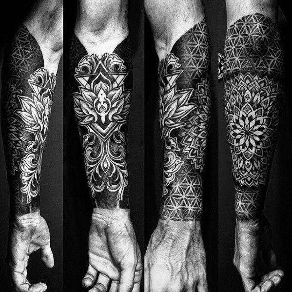 Geometric forearm tattoo designs, Cool forearm tattoos