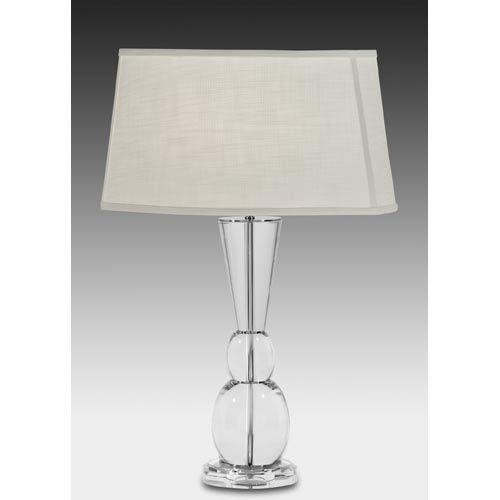 30 inch satin nickel full lead crystal table lamp 361 bellacor