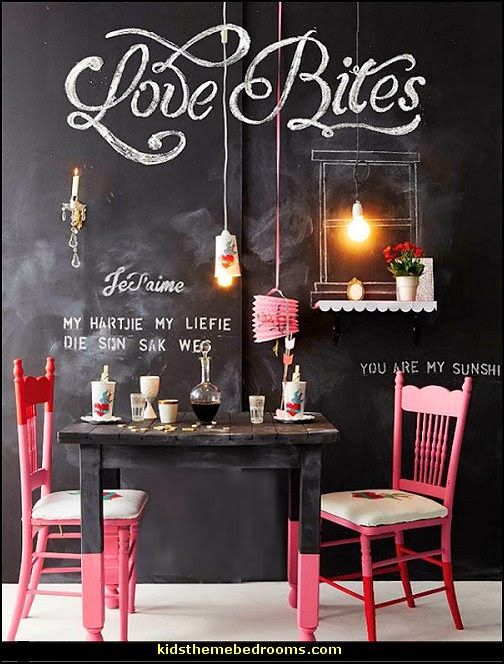 cafe style decorating ideas-home grown coffee shop