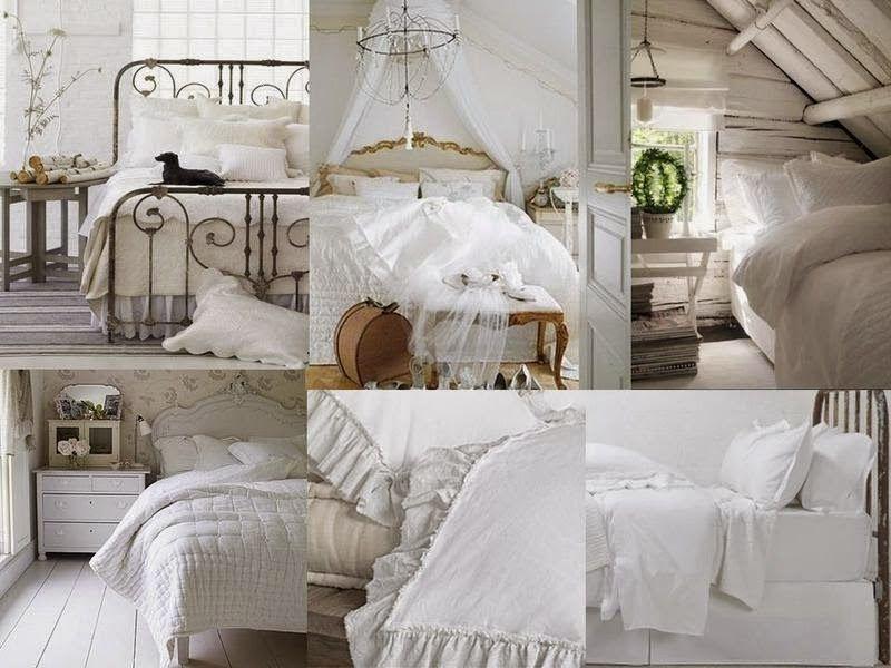 Boiserie c camere da letto 45 idee per ricreare lo stile shabby chic shabby pinterest - Camera da letto in stile shabby ...