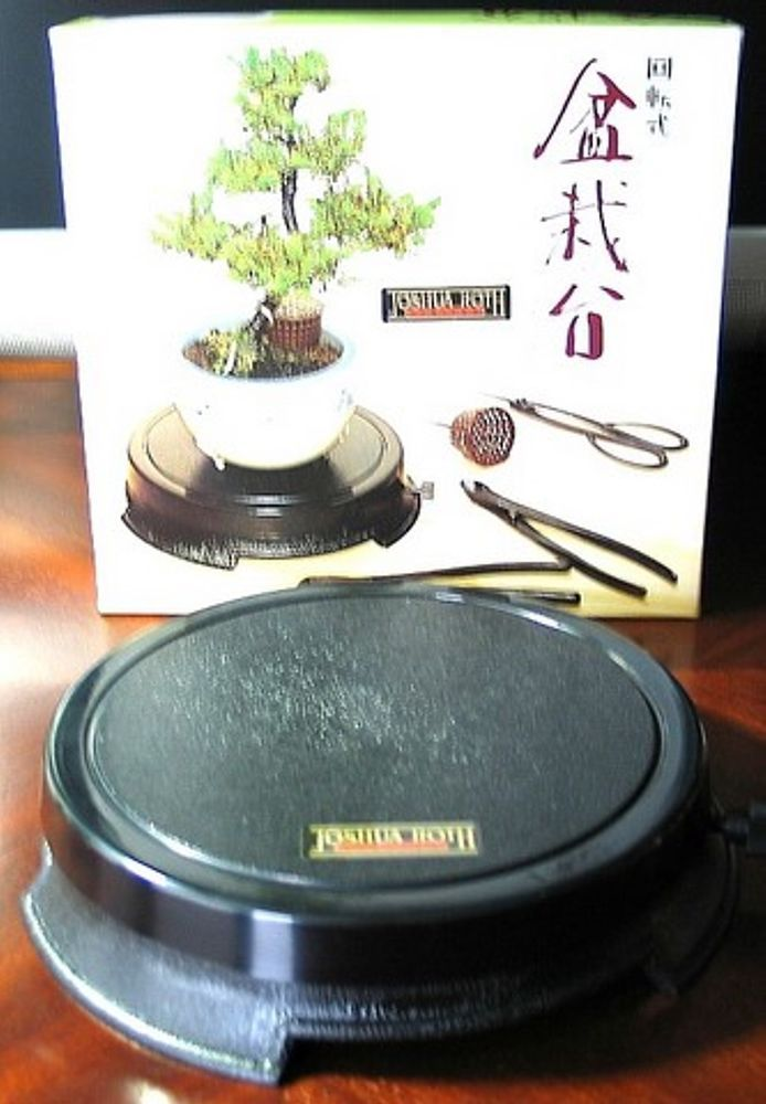 Turntable For Working With Or Displaying Bonsai And Other Items Bonsai Tools Bonsai Turntable