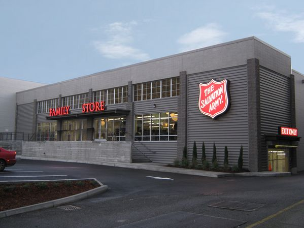 2030 Westheimer Houston, TX 77098 Monday-Saturday hours: 9 a.m. - 9 p.m. Sunday hours: Noon - 6 p.m. 713-699-6393 The Salvation Army Family Stores, donations of clothes, furniture, household items, electronics or autos