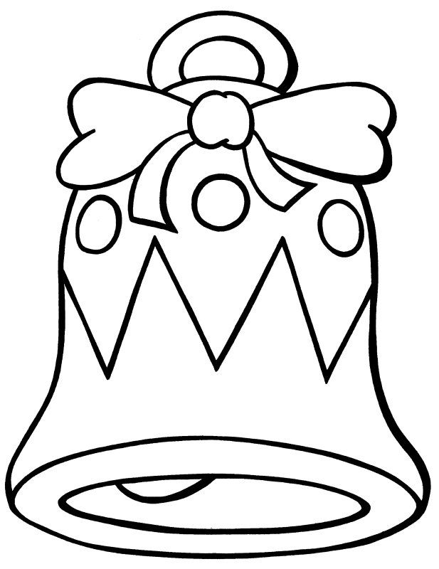 images of coloring pages of bells - Google Search | Coloring: Bells ...
