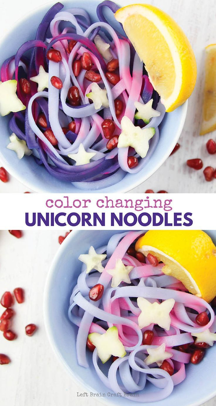 Magical color changing unicorn noodles unicorns noodle and magical color changing unicorn noodles use a bit of science to create their gorgeous pink and forumfinder Images