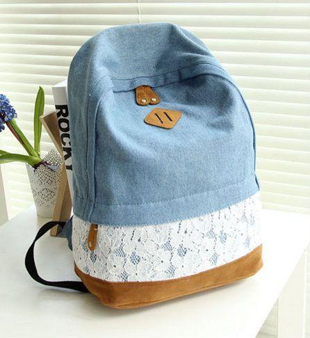 Джинсовый рюкзак своими руками фото