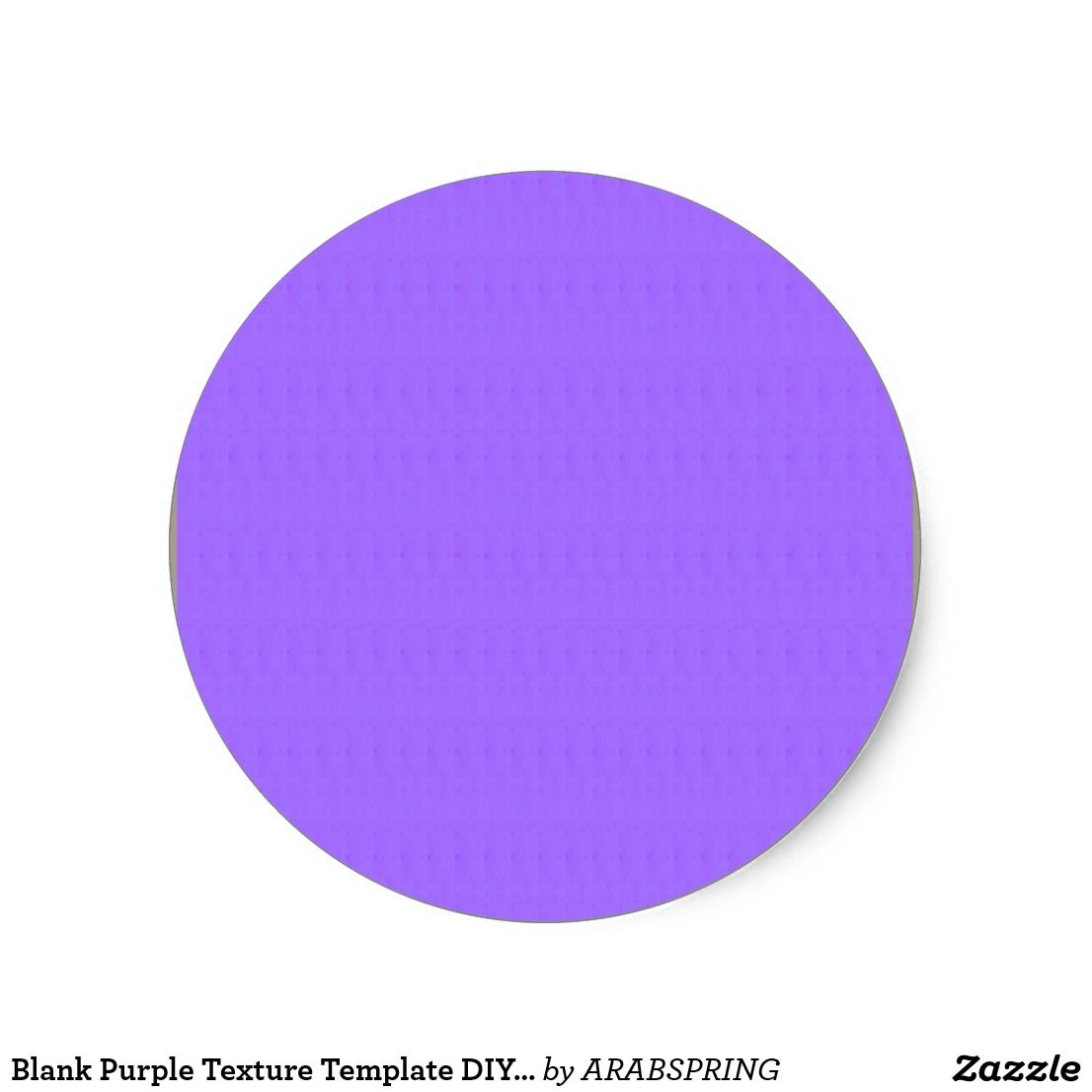 blank purple texture template diy add text image classic round