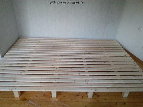 Familienbett bauen, DIY Bett bauen, Wir bauen ein ...