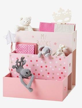 bucherregal kinderzimmer vertbaudet, vertbaudet stufen-bücherregal mit sternen in rosa | kinderzimmer, Design ideen