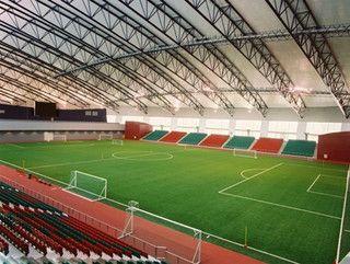 Aspire Dome Indoor Football Pitch Qatar Futebol Society