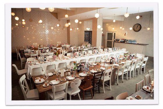 Wedding at the Michelberger Hotel inspiring ambiance Pinterest - heimat k che bar
