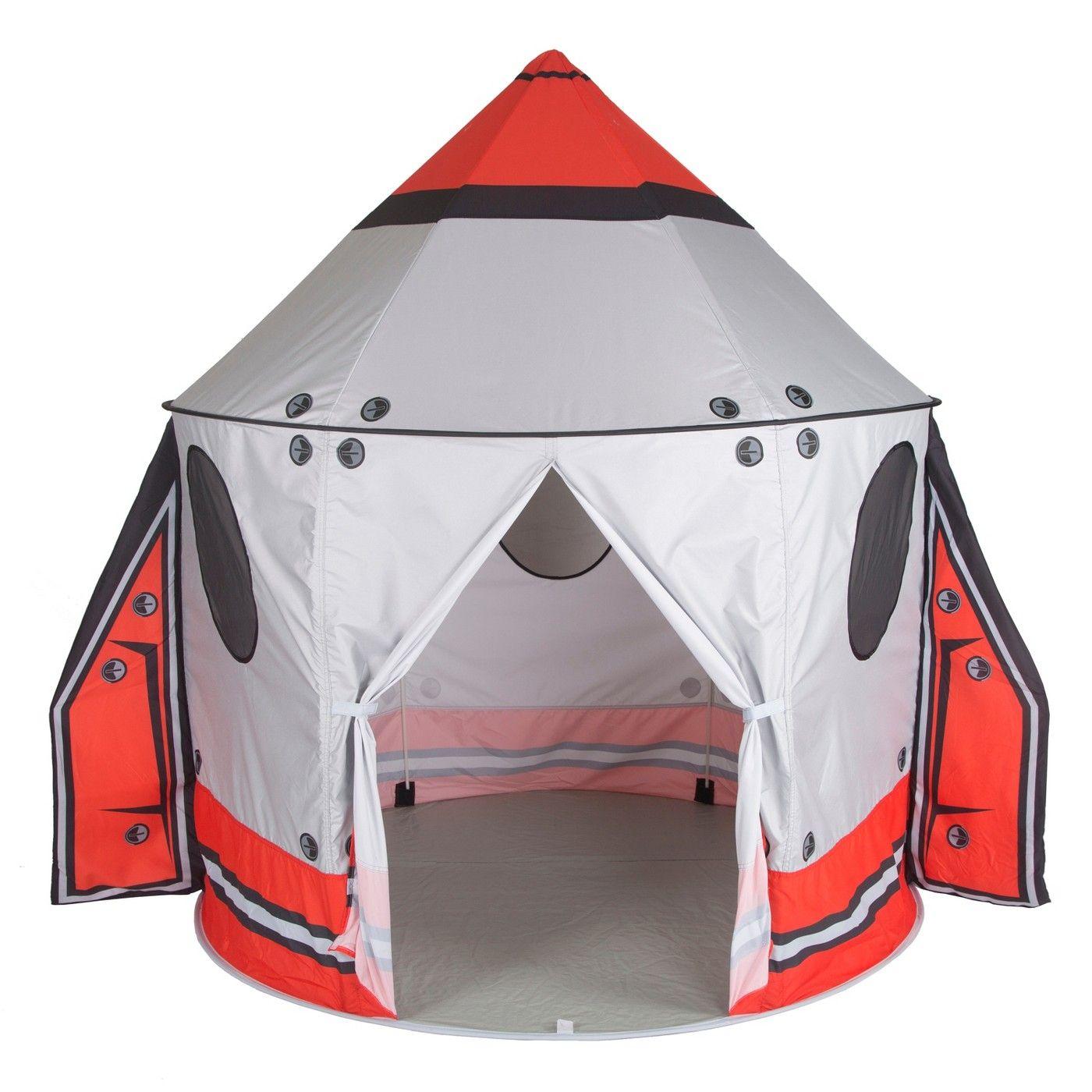 Pacific Play Tents Kids Classic Spaceship Peach Skin Play