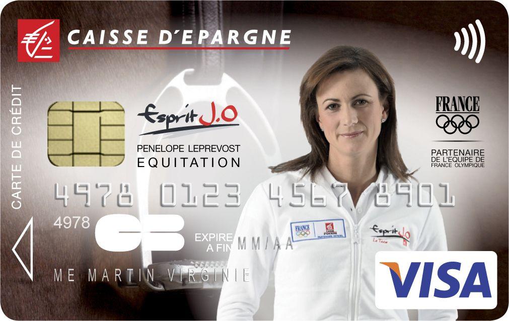 Envie D Avoir Une Carte Bancaire A L Effigie De Penelope Leprevost