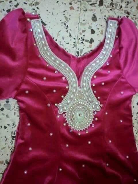 قندورة | قتدورة | Pinterest | Robe, Dress necklines and ...