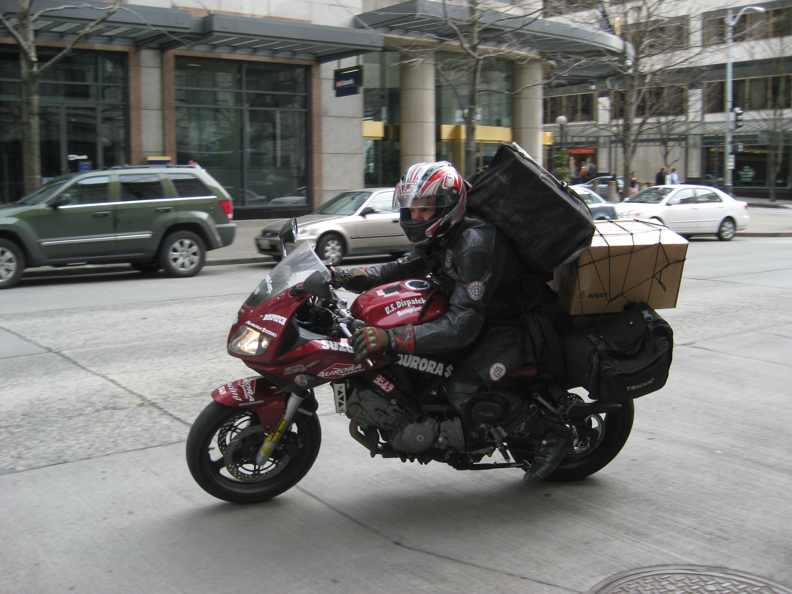 Motorbike delivery service (With images) Sport touring