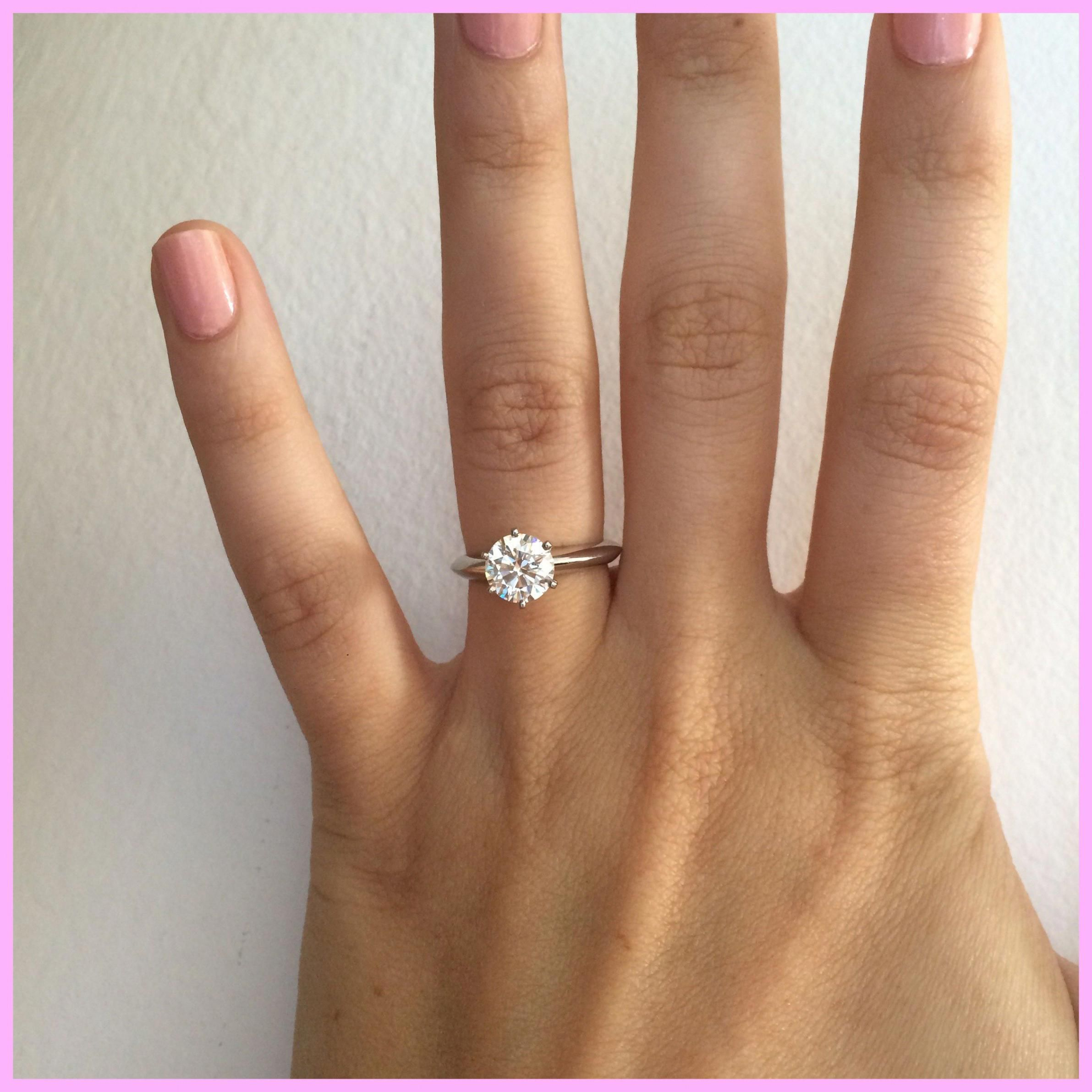 Best Quality Wedding Rings Ring 9777060934 Round Engagement Rings Tiffany Engagement Ring Diamond Engagement Rings