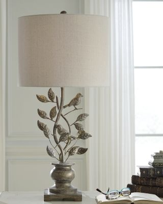 Heloise Table Lamp, by Ashley HomeStore, Gold Finish   Metal