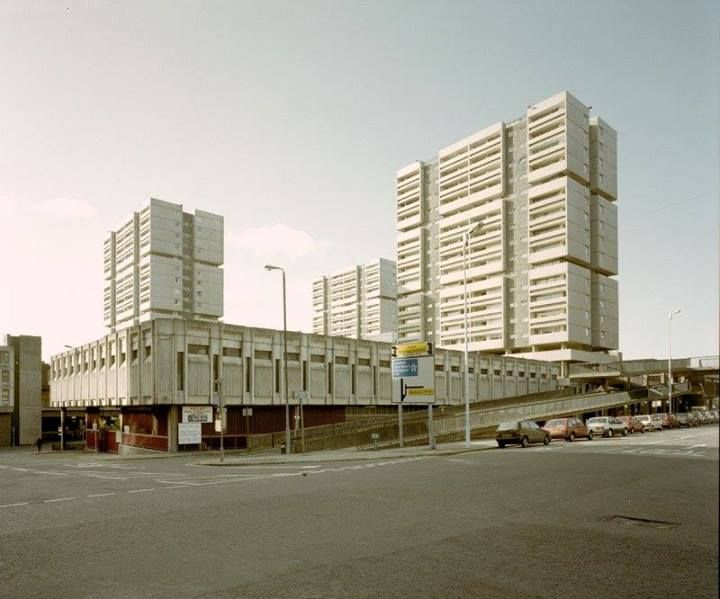 Richard Seifert's Anderston Centre (now Cadogan Square) in Glasgow
