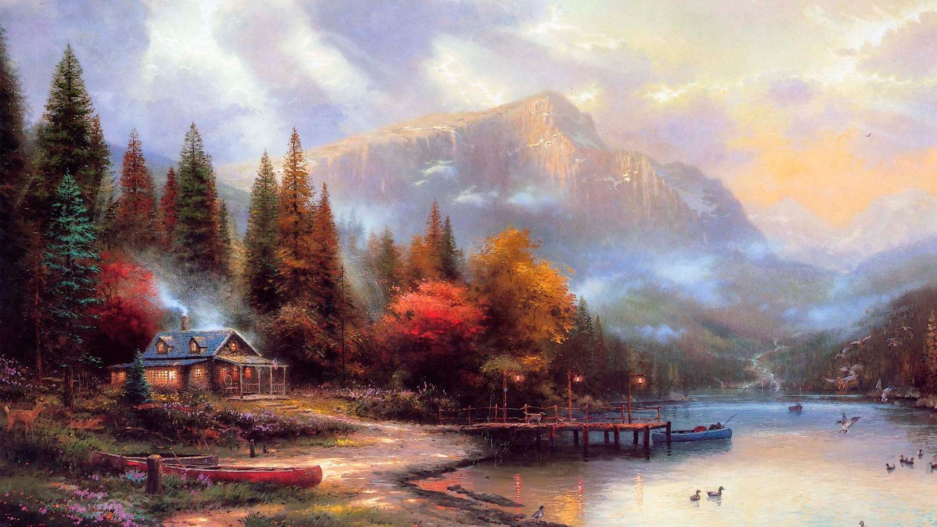 Best images about the painter of light thomas kinkade on hd hd wallpaper best images about the painter of light thomas kinkade on voltagebd Gallery
