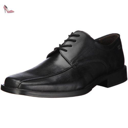 Fretz Men Fabio 3470.2515.51 Chaussures à lacets Homme - Noir - 41 1/3 EU (UK 7.5) n4NNFT