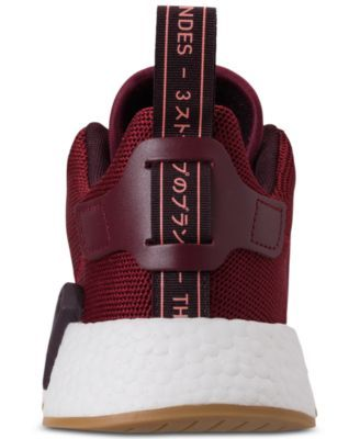 cfe1744a9 adidas Boys  Nmd R2 Casual Sneakers from Finish Line - Red 5