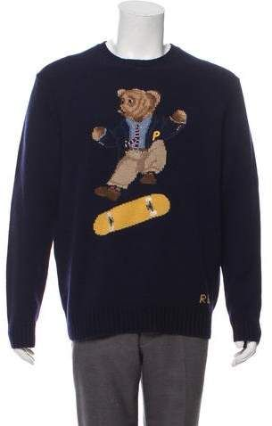 2018 Skate Bear Sweater w Tags | Products in 2019 | Polo