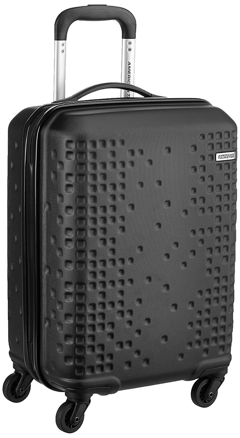 564ede35d 65% Off: American Tourister Cruze ABS 55 cms Black Hardsided Carry .