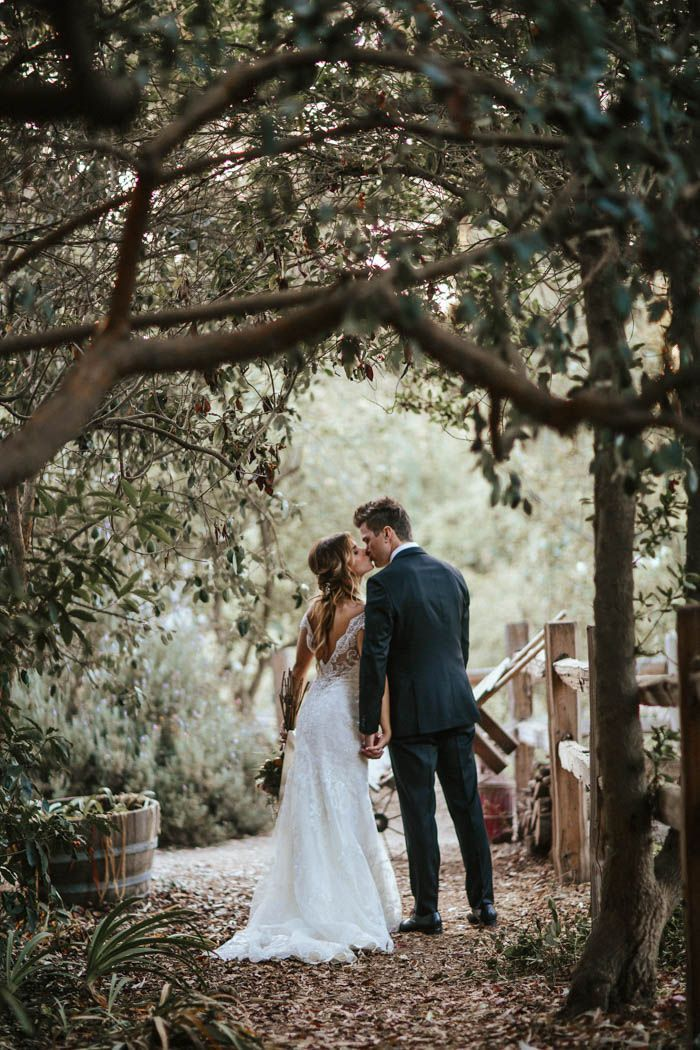 Glitzy Rustic DIY Wedding in Oxnard, California | Junebug Weddings
