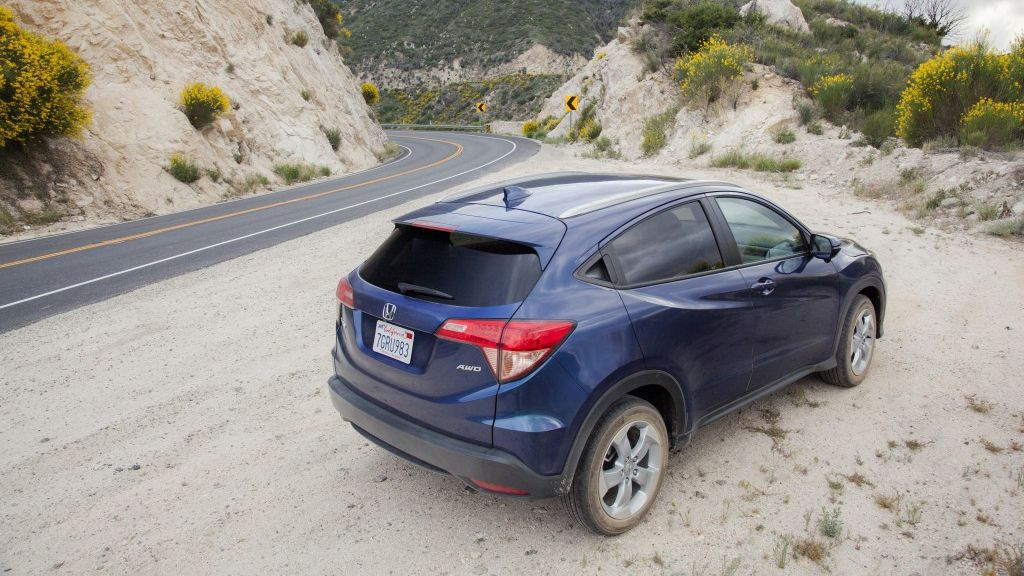 When the mountains are calling, the 2017 Honda HRV will