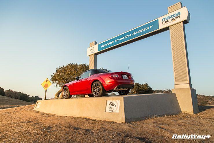 Anniversary Mazda Miata On Display At Mazda Raceway Laguna Seca  Photos Of The Largest Miata Meet In History Rallyways